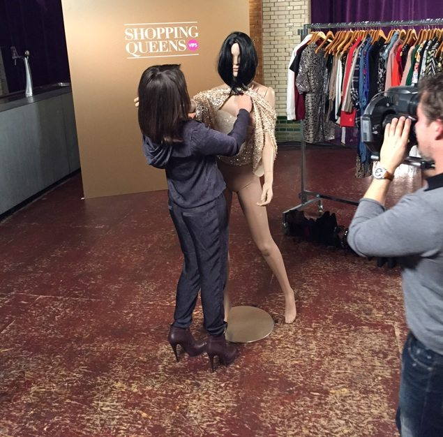 Laura Ponticorvo Shopping Queens VIPS Behind The Scenes